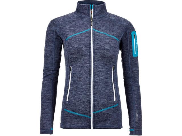 Ortovox W's Melange Fleece Jacket Light Night Blue